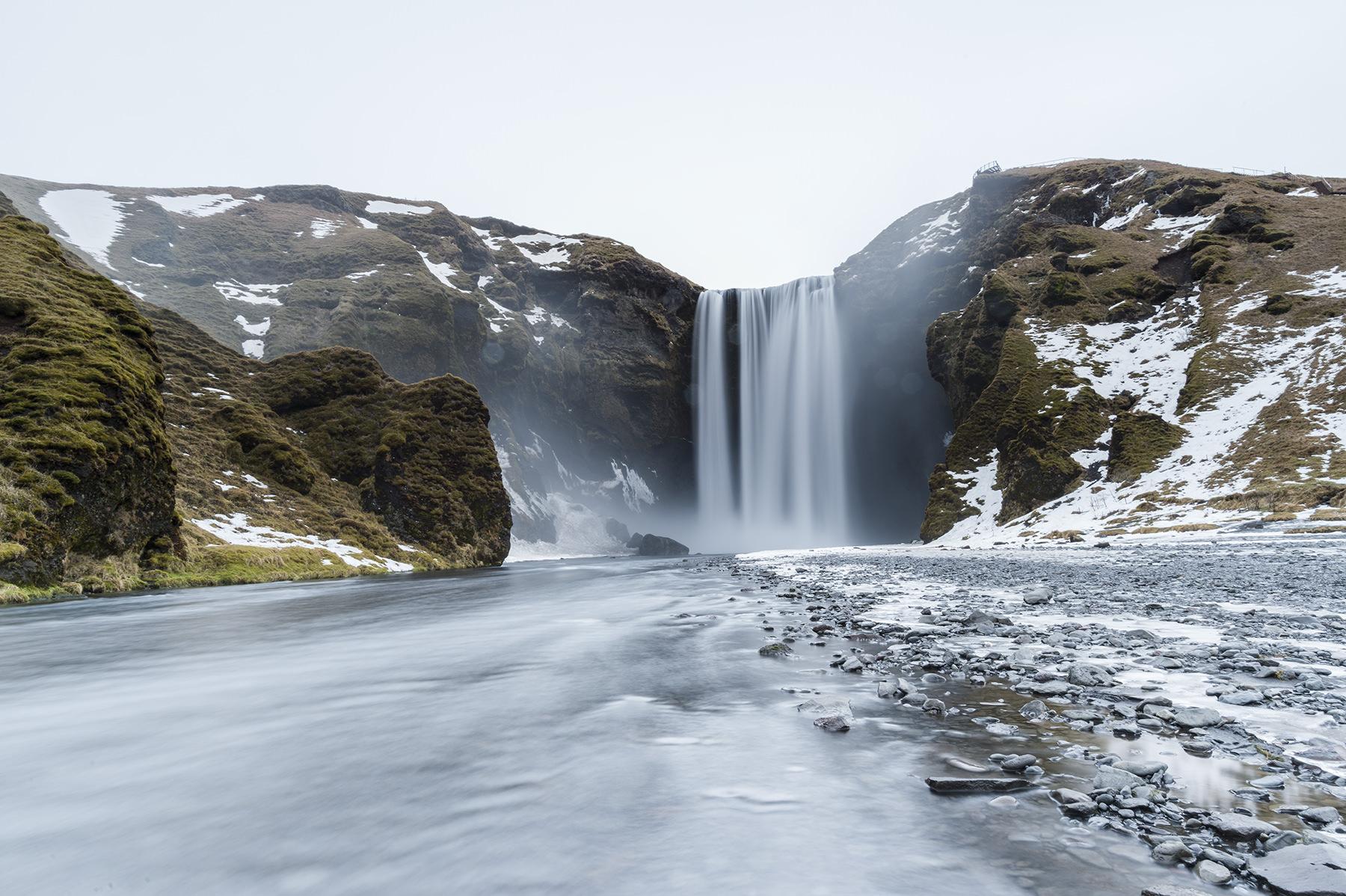 Islande <br> Focal : 20mm - Ouverture : F/16 - Vitesse : 10